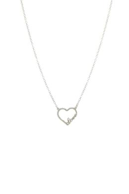 Love - szív medál nyaklánc