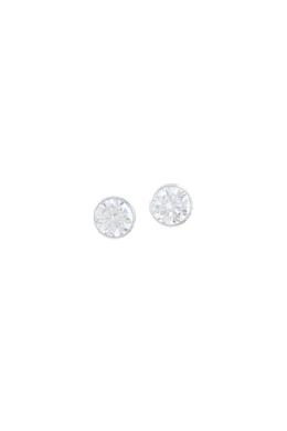Stone M - köves ezüst fülbevaló