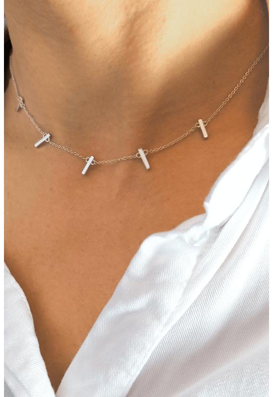 Sticks - ezüst nyaklánc