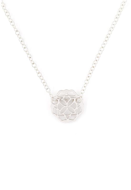 Mandala Wave - ezüst nyaklánc