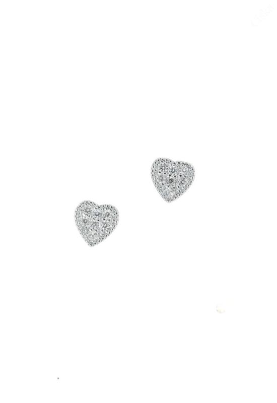 Egyszerű Ezüst Fülbevalók