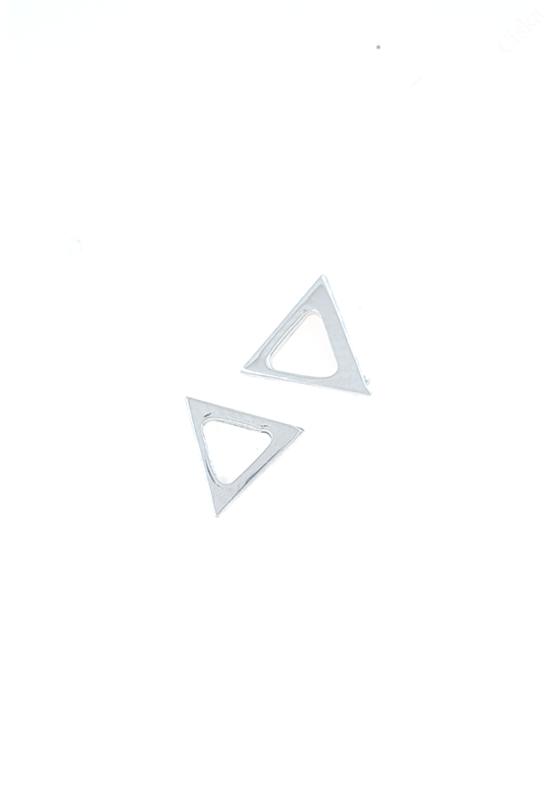 Háromszög Ezüst Fülbevaló