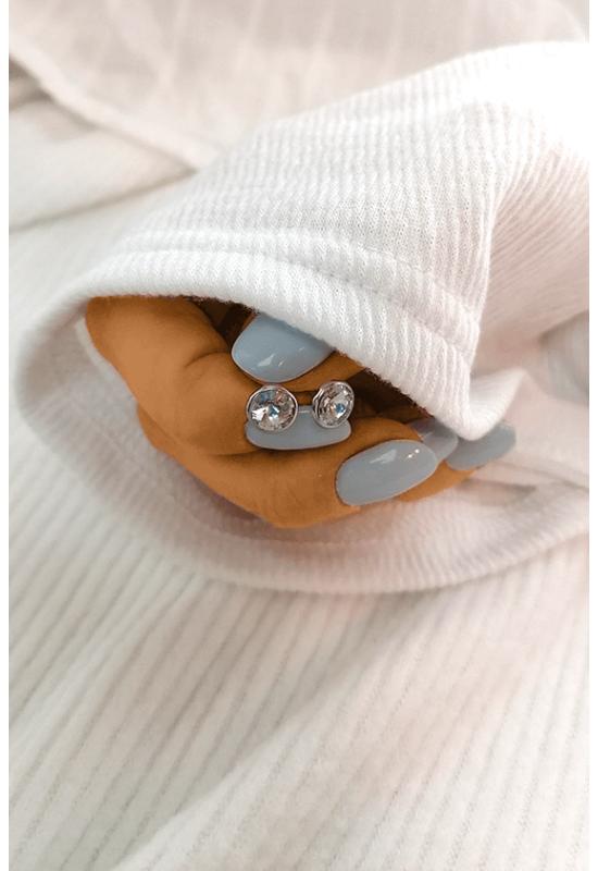 Swarovski Ezüst Fülbevalók
